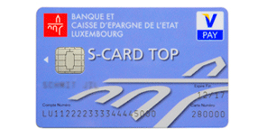 Carte S-CARD TOP